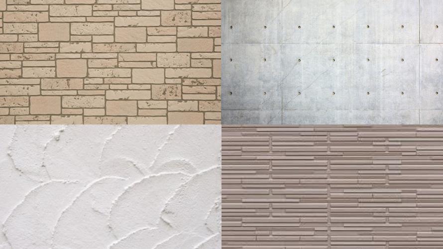 外壁材の種類とおすすめの塗料