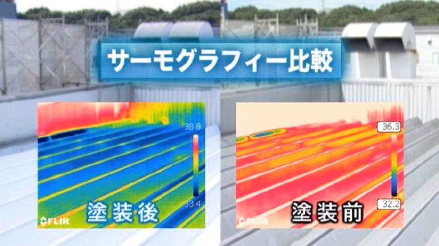 遮熱塗料の3つの効果【評判あり】