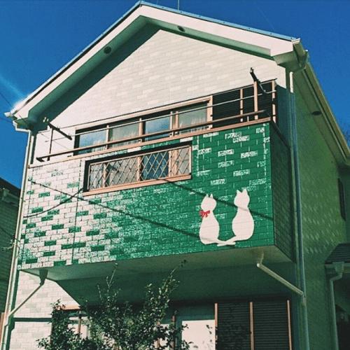 ユーコーコミュニティーアート塗装施工例