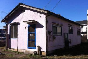 ピンク系の外壁塗装の施工例2
