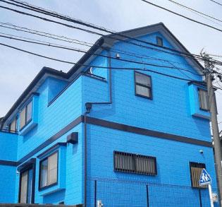 ブルー系の施工例6